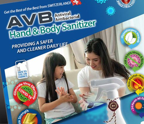 AVB Hand & Body Sanitizer